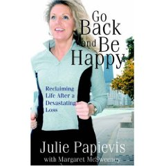 Julie Papevis and Her Book - Go Back and Be Happy