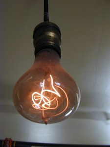 Centennial Lightbulb, a lightbulb that has burned continuousy (except for approx. 20 minutes) since 1901.