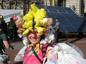 Emily Utter, Instrumental in the San Francisco plastic bag ban & town coordinator for BagIt