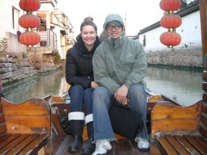 Teresa & Chris Yang in Suzhou, China