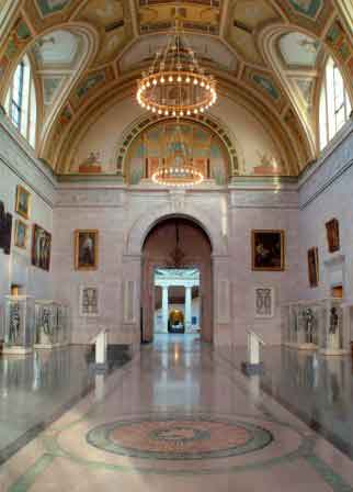 The Great Hall at the Detroit Institute of Arts