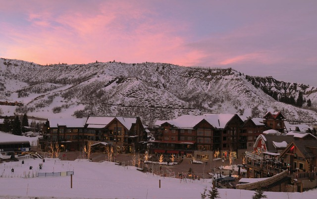 View from Crestwood Condominiums, Snowmass, Colorado