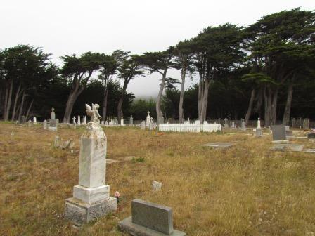 Cuffy's Cove Community Cemetery (Where Tombstones Teach You they Used to Measure Life in the Number of Years, Months and Days Lived)