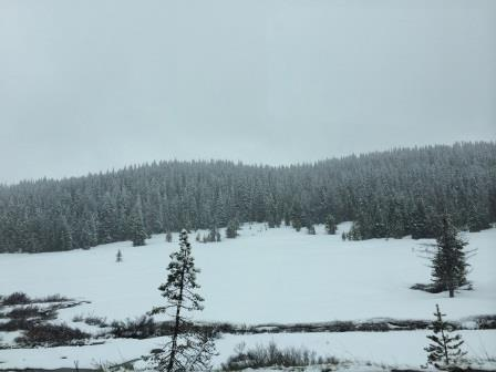 snowy rabbit ears pass colorado may 2015 memorial day weekend