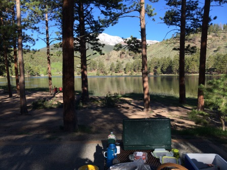 ohaver lake campground salida colorado camp site #19