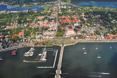 St Augustine, Florida, Photo Courtesy of floridashistoriccoast.com.